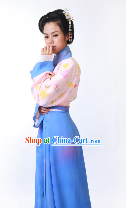 FINE CHINESE CLOTHING  Women Han Fu_Hanfu Clothing