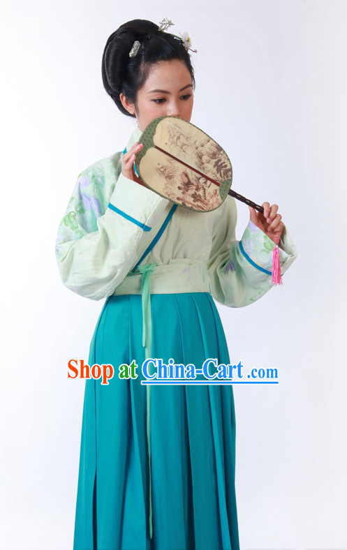 Traditional Civilian Female Costume of Han