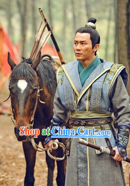 Chinese Tang Dynasty General Clothes online and Coronet Complete Set