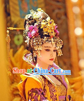 Chinese Empress Royal Hair Extensions Accessories and Wig