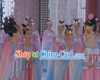 Chinese Traditional Palace Maid Costume
