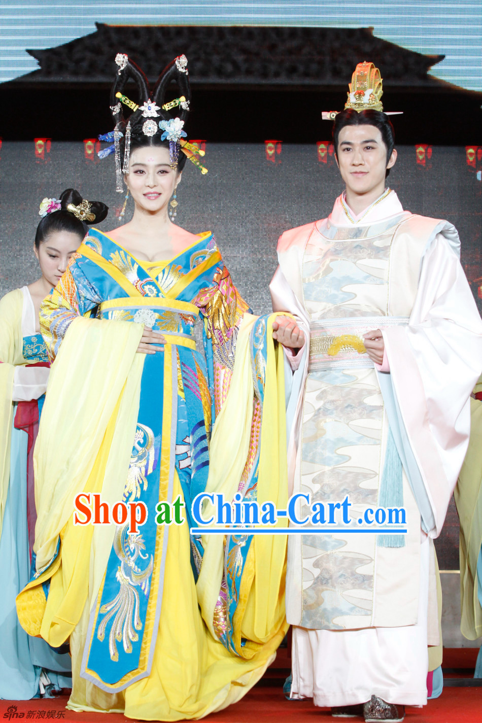 Ancient Chinese Emperors and Empress Clothing 2 Sets