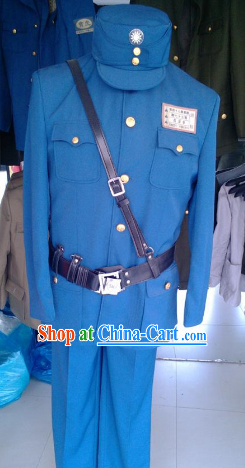 Old Time Chinese Military Uniforms