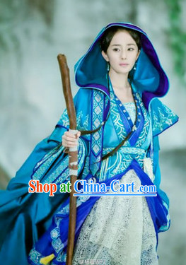 Chinese Fairy Hanfu Costumes Asian Fashion Complete Set