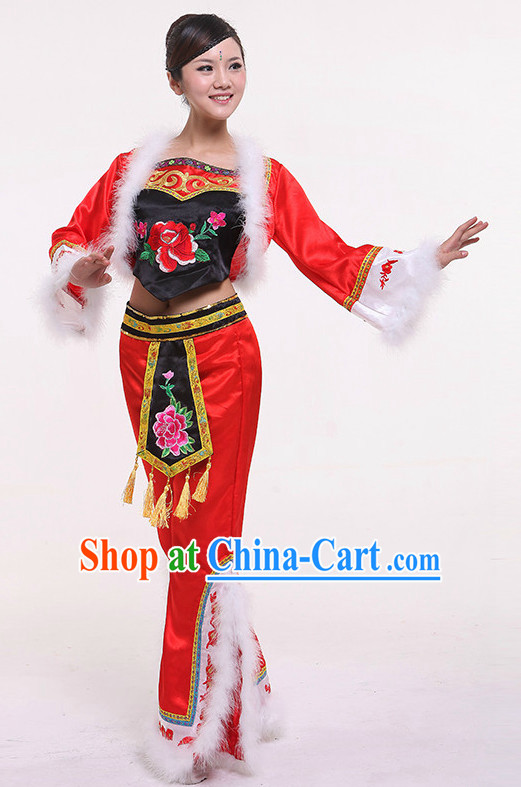 Chinese Discount Dance Cstumes