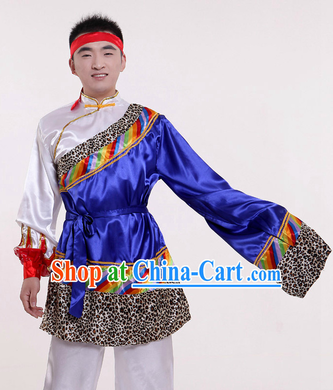 Mongolian Traditional Dress for Men