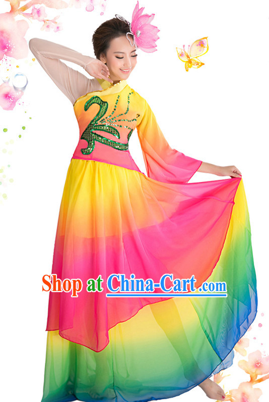 Top China Dance Costumes for Competition and Celebration