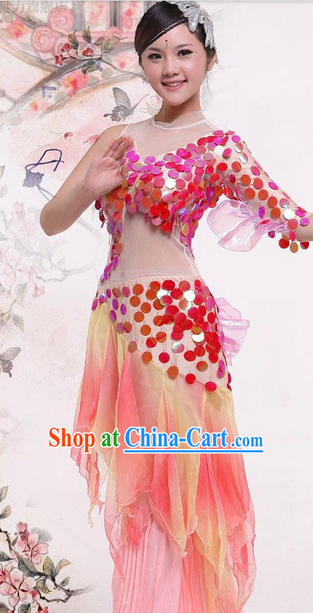 China Traditional Dance Costume