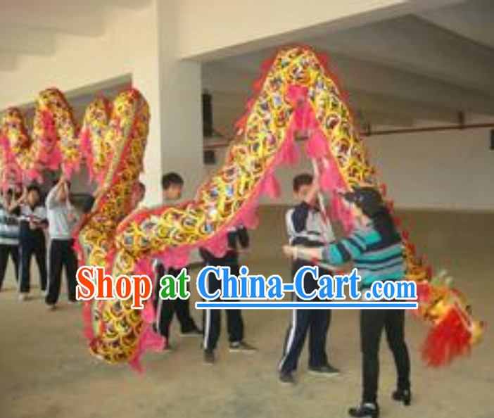 Chinese Dragon Costume Complete Set for Eight Middle School Students