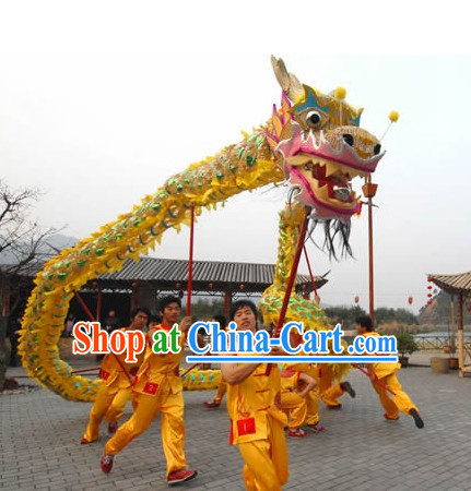 Lighweight Dragon Mascot Dance Costume Complete Set