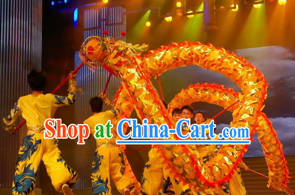 High School Lighweight Chinese Dragon Head Costume Complete Set