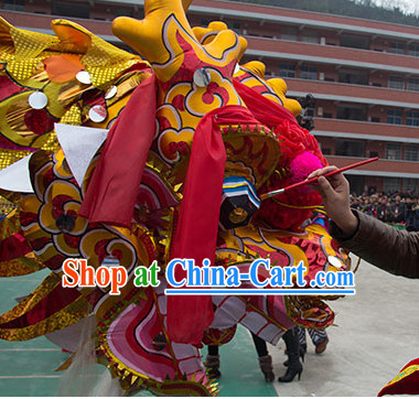 Best Chinese New Year Dragon Dance Costume Complete Set