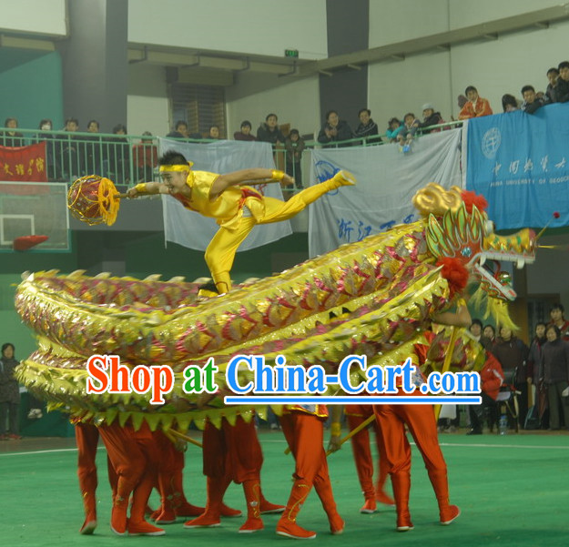 Professional Competition and Performance Dragon Dancing Equipment Complete Set