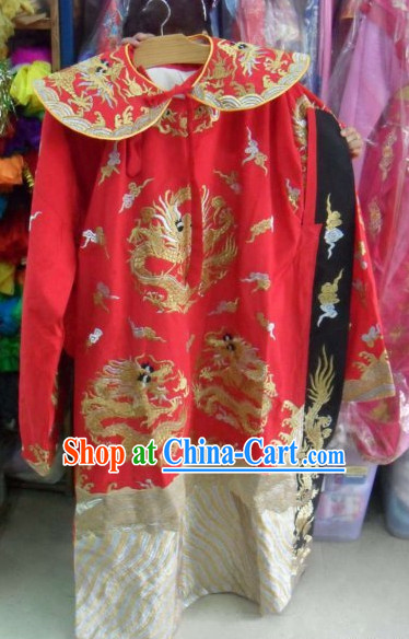 Peking Opera Dragon Robe for Men