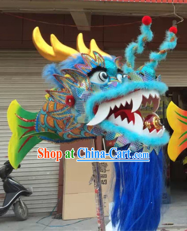 Chinese New Year Parade Fish Dragon Escort Props