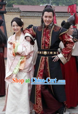 chinese general costumes