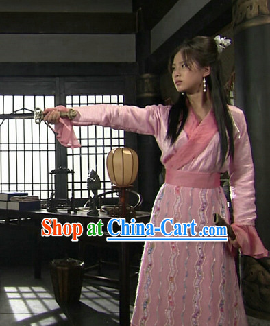 Chinese Swordwoman Clothing