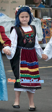 Greek National Costumes for Children