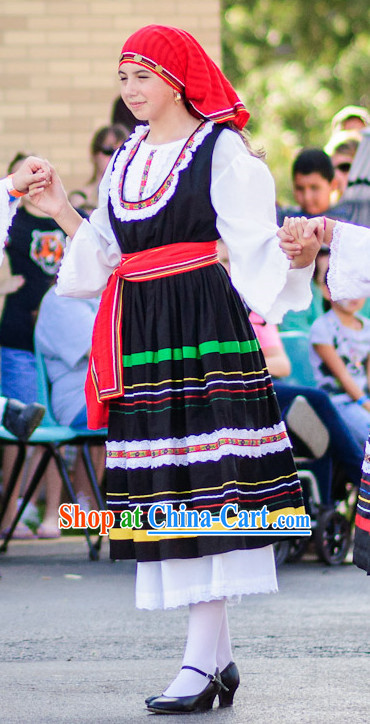Greek Dance Costumes for Women