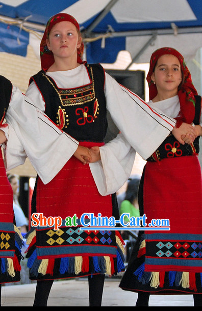 Greek Dance Costumes for Girls