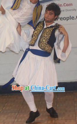 Mens Greek Costumes Complete Set