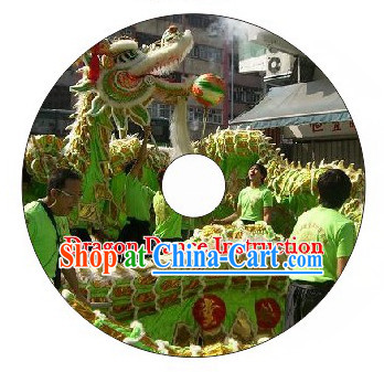 Guide DVD of Playing Dragon Dance and Lion Dance