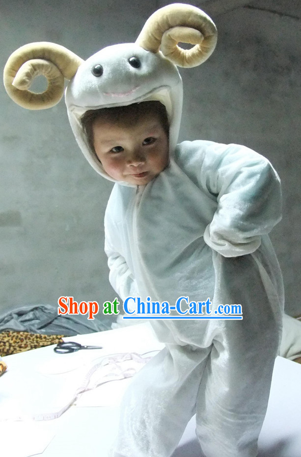 Chinese New Yer Goat Sheep Costume for Children