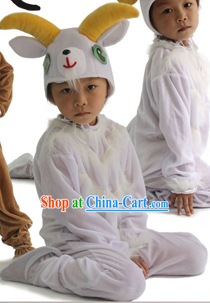 Chinese New Yer Celebration Sheep Dance Costumes for Students