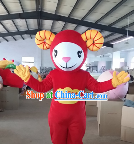 Chinese New Year Sheep Costume for Celebration