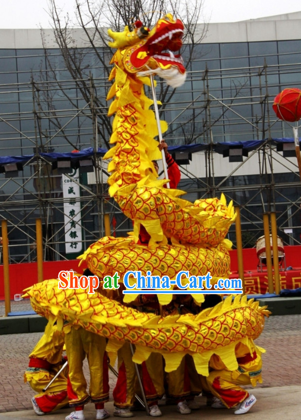 Chinese National Dragon Dance Costumes Complete Set