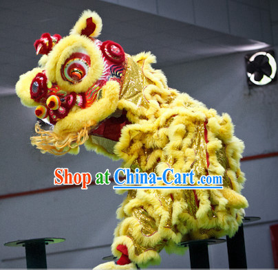Top Gold Southern Fo Shan Lion Dance Equipment Complete Set