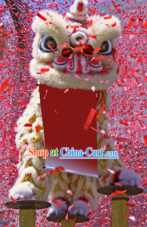 New Design Southern Lion Dance Equipments Complete Set