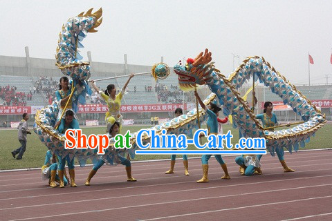 Top Quality Lightweight Net Dragon Dance Equipments Complete Set
