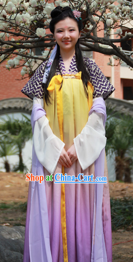 Asian Dress Chinese Dress up Clothing