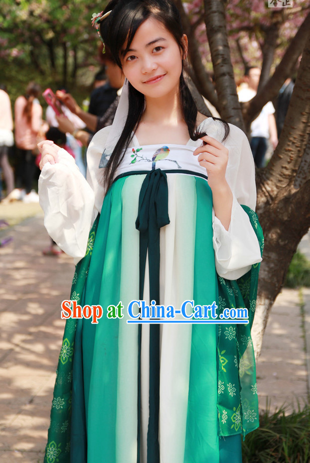 Asian Dress Chinese Dress up Clothing for Girl