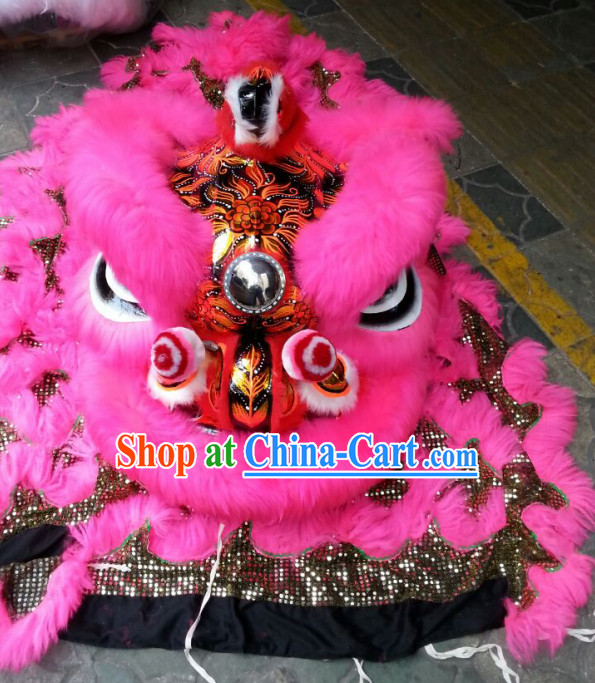 Top Competition and Parade Lion Dance Costumes Complete Set