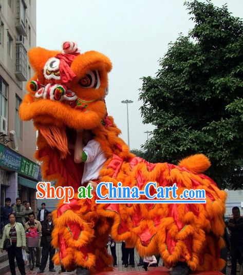 Chinese New Year Lion Dancing Costumes Complete Set