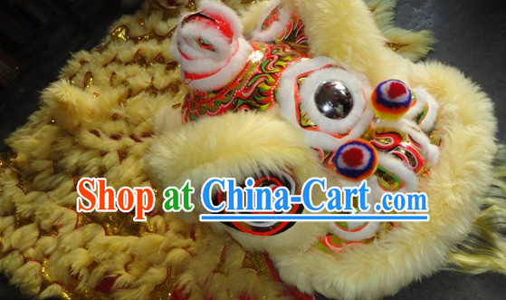 Chinese New Year Lion Dancing Equipments Complete Set