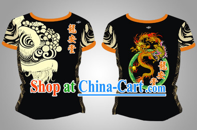 Chinese New Year Singpore Dragon and Lion Dancer Uniform