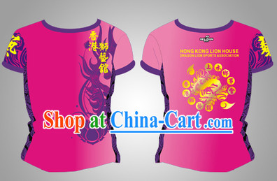 Chinese Dragon and Lion Dancers Clothes