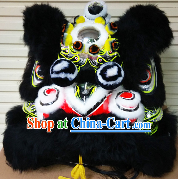 Top China Lion Dancers Dancing Costume Complete Set