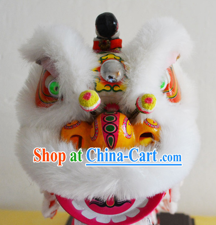 Lion Dance Heads Costumes Complete Set
