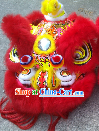 Lion Dance Head for Sale Complete Set