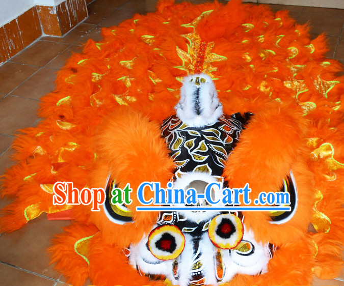 Asian Lion Dance Costume Complete Set