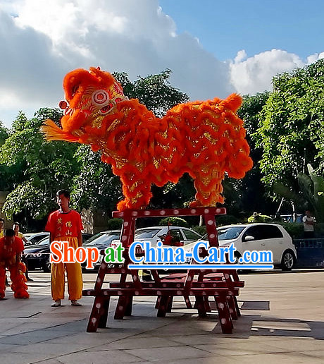Chinese Lion Mascot Costumes