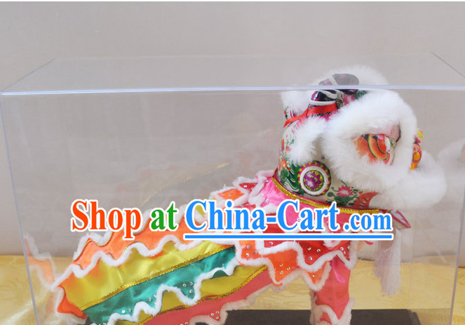 LED Lights Small Lion Dance Handicrafts