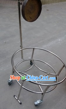 Professional Steelless Drum and Gong Cart