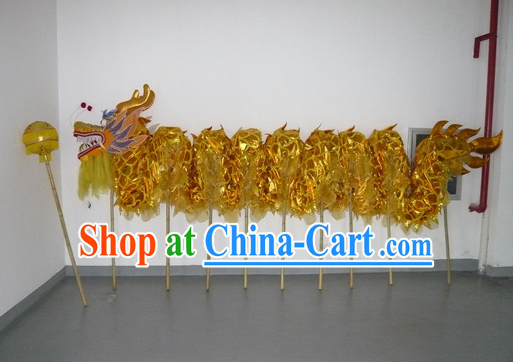 Chinese New Year Dragon Mascot Equipment Complete Set
