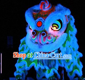 Luminous Chinese Lion Costume Complete Set