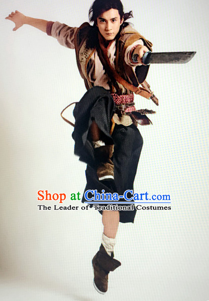 China Ancient Killer Costume Complete Set for Men
